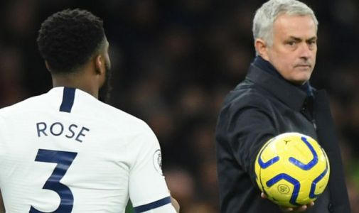 Tottenham boss Jose Mourinho denies Danny Rose bust-up