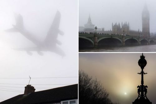 UK weather forecast: Severe FOG warning as Brits face Easter away travel chaos