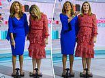 Jenna Bush Hager finds out she weighs 171lbs after live TV weigh-in with Hoda Kotb