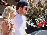 Brody Jenner gets 'weed bouquet' from Kaitlynn and Miley Cyrus.as he celebrates birthday