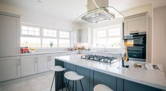 Video tour of stylish new homes in idyllic Down river setting