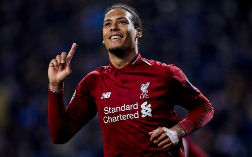 Virgil van Dijk 'beats Raheem Sterling' to Players' Player of the Year award