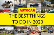 Autocar's guide to the best things to do in 2020
