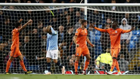 Champions League round-up: Man City in meltdown against Lyon