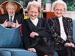 One half of UK's oldest identical twins brands Boris Johnson a 'w****r' following death of sister