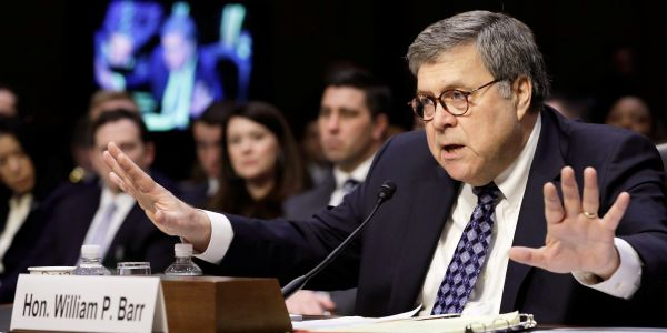 AG William Barr went to bat for Trump in a wild interview where he baselessly claimed the FBI acted in 'bad faith' during the Russia probe