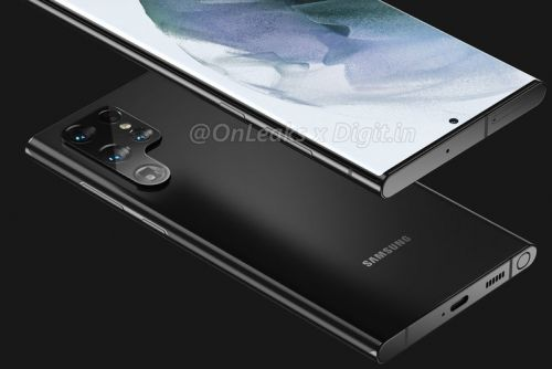 This is what the Galaxy S22 Ultra will look like, launching early 2022