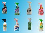 CHOICE reveals the best multi-purpose cleaning spray costs just $4.40