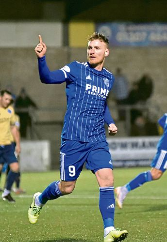 Cove Rangers captain Mitch Megginson can't wait to link-up with new boy Rory McAllister
