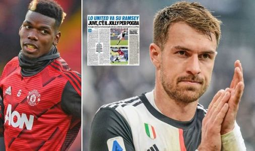 Man Utd make Juventus transfer contact over Aaron Ramsey as Paul Pogba exit edges closer