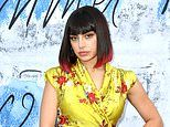 Serpentine Summer Party 2019: Charli XCX catches the eye in a yellow kimono-style maxi dress