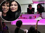 Kylie Jenner takes her Kylie Truck to the San Fernando Valley Rescue Mission