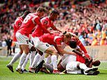 Fylde 0-3 Salford City: Class of 92' realise Football League ambition as Ammies win play-off final