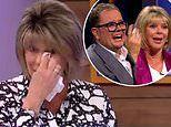 Ruth Langsford breaks down in tears as she looks back on £33k charity and thinks of her late father