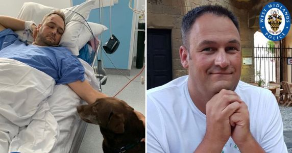 PC 'run over by his own police car' gets visit from pet dog in hospital