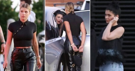 Kylie Jenner back to reality after lavish birthday celebrations as she heads to dinner with Scott Disick and Sofia Richie
