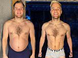 Olly Murs shows off his staggering two month weight loss transformation