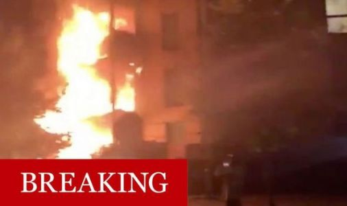 Clapton fire: 80 firefighters tackle horror apartment block blaze in east London