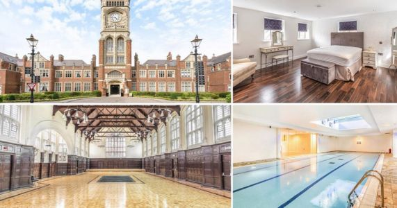 Flat for sale inside building used to film Great Hall scenes in Harry Potter