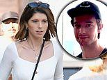 Katherine Schwarzenegger gets coffee with gal pal. before joining brother Patrick at Health House