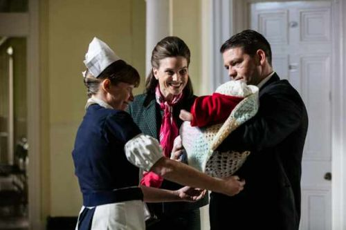Call the Midwife only uses real newborns for its birth scenes - but how do they cope with all the babies?