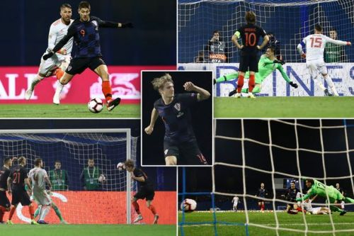 Spain 2-3 Croatia: Tin Jedvaj's late winner blows England's Nations League group wide open