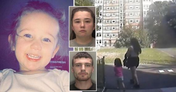 'Uncaring' mum and boyfriend found guilty of killing daughter, 3, at home