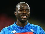 Manchester United plan world record £90m summer signing of Napoli defender Kalidou Koulibaly
