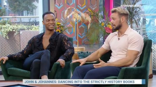 John Whaite Opens Up About His And Johannes Radebe's First Strictly Come Dancing Row
