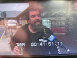 VB-drinking larrikin crashes TV feed to say Victoria border closure means he can't go Centrelink