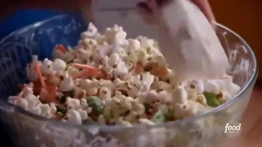 Chef's salad with a popcorn base branded a 'crime against humanity'