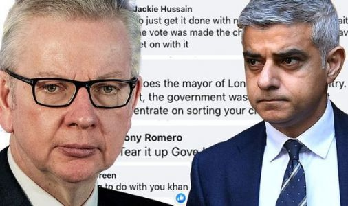 'Tear it up Gove, we're leaving!' Britons fury after Sadiq Khan demands Brexit extension