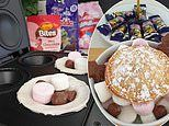 Mum's four-ingredient Rocky Road pies using a budget $29 gadget take the internet by storm