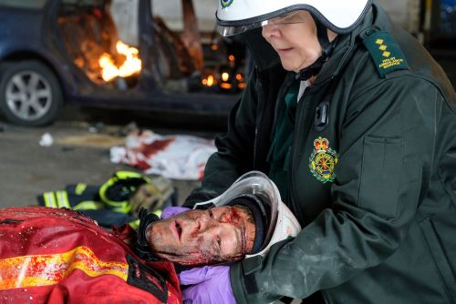 Casualty review with spoilers: Heroic Ethan devastated by terrorist deaths