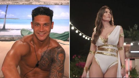 Love Island's Callum and newbie Rebecca get close after he enjoyed kiss from her - and Shaughna is livid