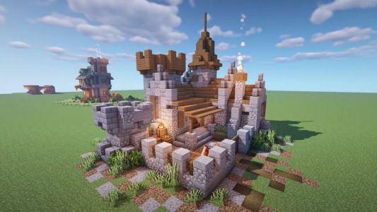 Minecraft castle ideas: how to build a castle in Minecraft using blueprints