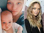 Gemma Ward shares an adorable photo of her three-week-old daughter Kirra