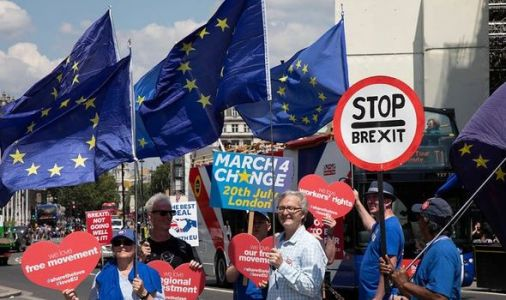 Brexit split deepens as voters more polarised than ever on leaving the EU - shock poll