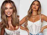 Khloe Kardashian wears white bustier from White Fox Boutique in THAT controversial Instagram photo