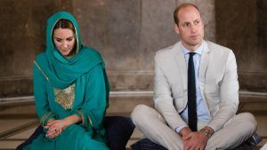 William and Kate's plane was forced to abort landing twice following thunderstorms