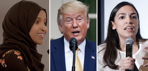 Trump tells progressive freshman congresswomen to 'go back' to their 'broken and crime infested' countries