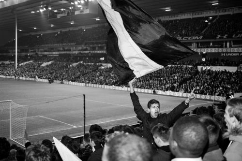 Spurs supporter gives candid view of a footie fan's life on and off the terraces with intimate black and white images