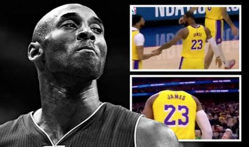 Twitter fury at BBC blunder as video of LeBron James is used to pay tribute to Kobe Bryant