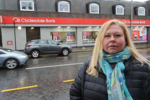 Plans to close Clydesdale Bank in Wishaw reintroduced after stay of execution