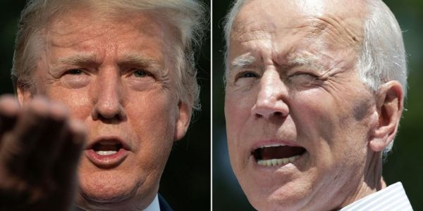 Joe Biden attacked Trump's 'weakness' after the president launched his most brutal attack yet on the Democrat and his son Hunter