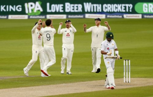 Shan Masood century leads Pakistan to 326 in first innings at Old Trafford