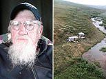 PICTURED - Alaska man who was stalked by a bear for days