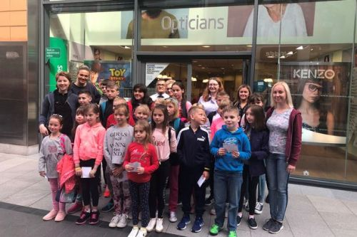 West Lothian opticians give eye checks to children affected by Chernobyl disaster