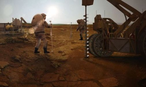 Life on Mars: Study suggests 'chemistry of life' CAN lurk beneath Red Planet's surface