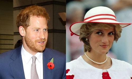 Prince Harry gets in trouble with mum Princess Diana in sweet throwback video - watch clip
